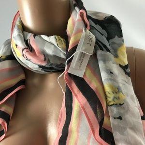 LOFT Accessories - Loft Women's Squared Neck Scarf Floral